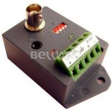 Конвертер Т351R (1канал активный)приёмник видео по витой паре.До 3000м