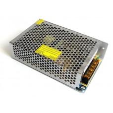 VPS-12-10 Источник питания 12V 10A  в металличе. корп, встраиваемый, с регулятором напряж.