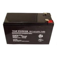 Аккумулятор   7.А/ч, 12 ВСвинцово-кислотный, герметичный