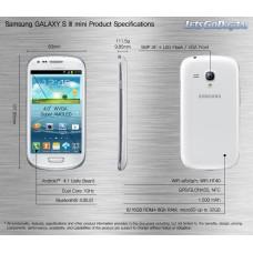 Смартфон Samsung Galaxy S III mini GT-I8190 8GB